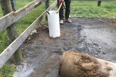 Horse Waterer Installation