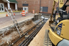 Water Line Installation Project Carroll County MD